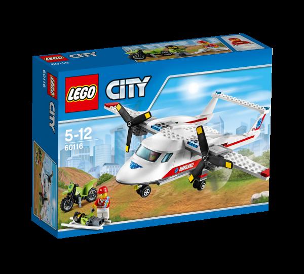 LEGO® CITY 60116 Rettungsflugzeug