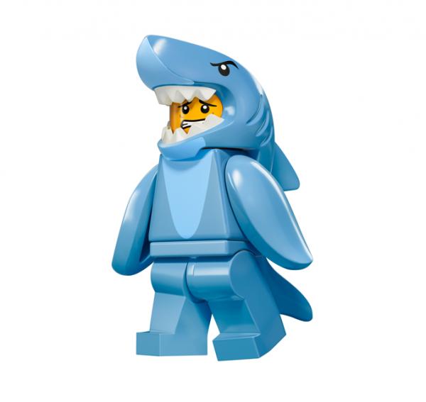 LEGO® Minifiguren Serie 15 - Mann im Haikostüm 71011-13