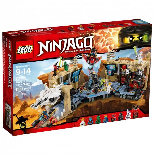LEGO® Ninjago 70596 Samurai X Höhlenchaos