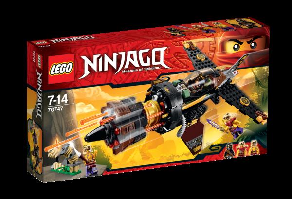 LEGO® Ninjago 70747 Cole's Felsenbrecher