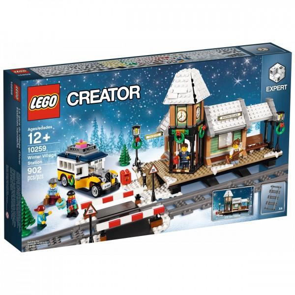 LEGO® 10259 Winterlicher Bahnhof