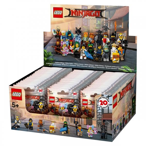 LEGO® 71019 NINJAGO Movie Minifiguren Thekendisplay