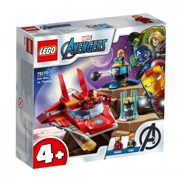LEGO® Marvel Super Heroes™ 76170 Iron Man vs. Thanos