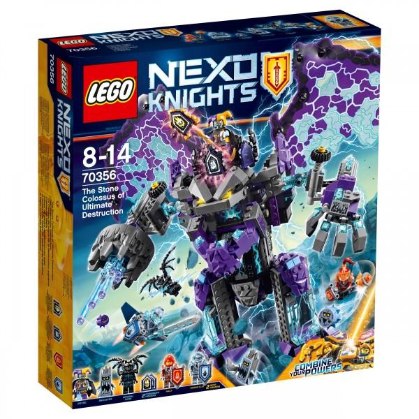 LEGO® Nexo Knights 70356 Der stürmische Steinkoloss