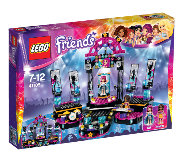 LEGO® Friends 41105 Popstar Showbühne