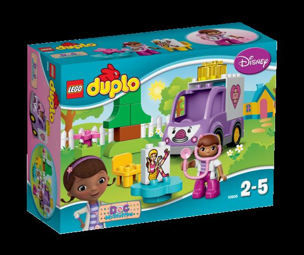 LEGO® DUPLO® 10605 Doc McStuffins - Rosie der Krankenwagen