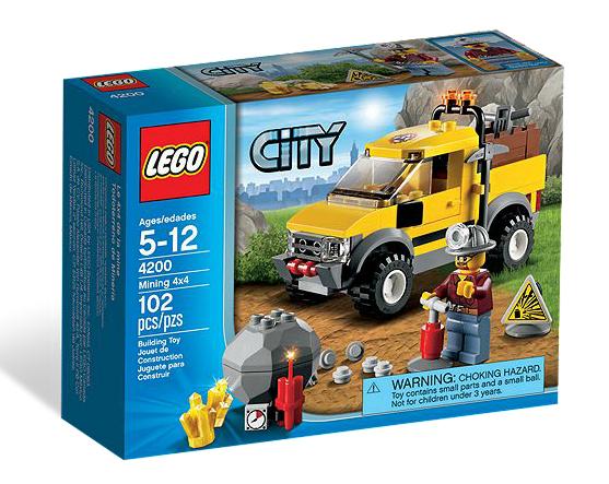 LEGO® CITY 4200 Gruben-Geländewagen