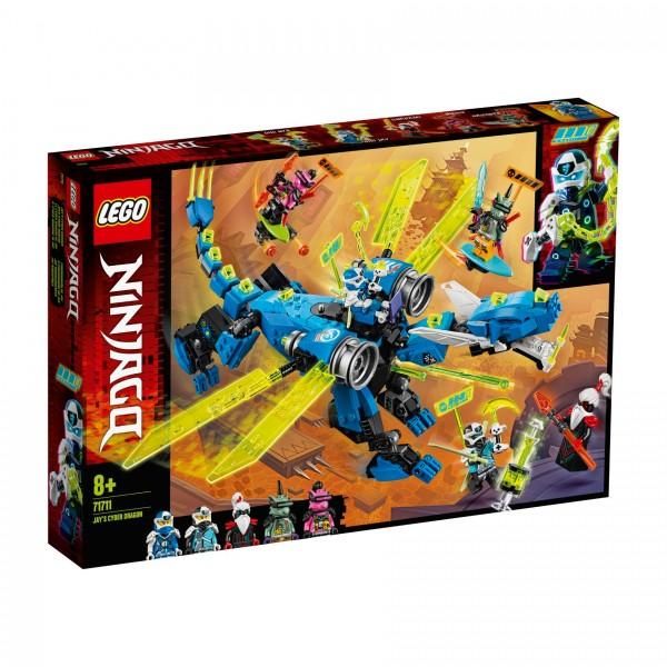 LEGO® NINJAGO® 71711 Jays Cyber-Drache