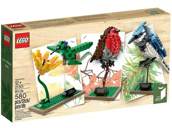 LEGO® Ideas 21301 Wildvögel