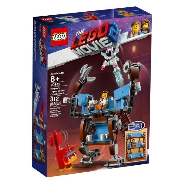 LEGO® Movie 2 - 70842 Emmets Dreifachdecker-Couch Roboter