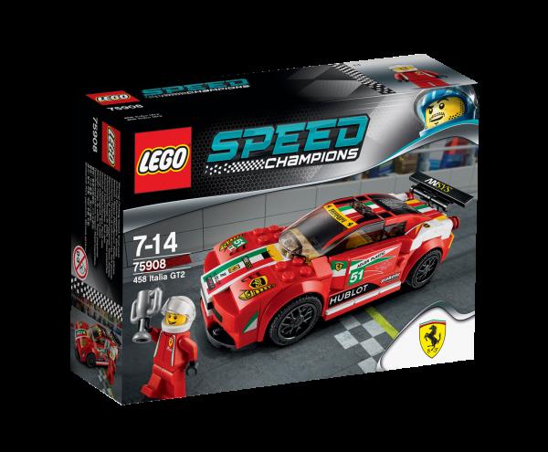 LEGO® Speed Champions 75908 458 Italia GT2