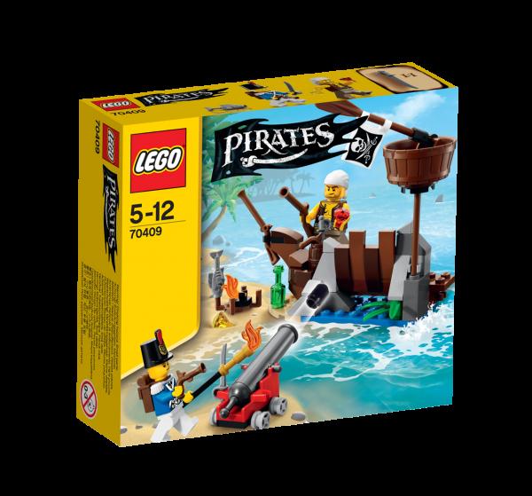 LEGO® Pirates 70409 Verteidigung des Schiffswracks