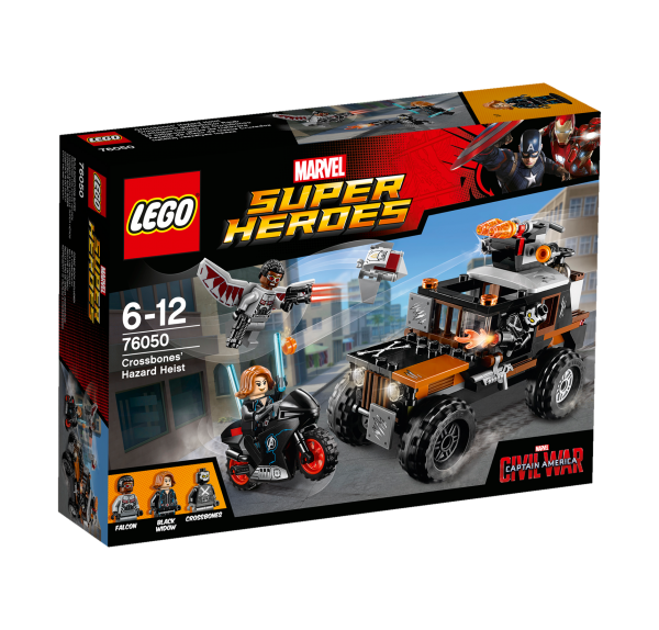 LEGO® Marvel Super Heroes 76050 Crossbones gefährlicher Raub