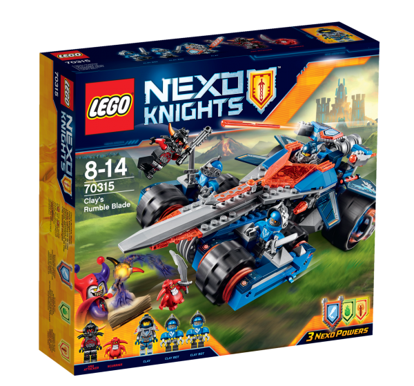 LEGO® Nexo Knights 70315 Clays Klingen-Cruiser