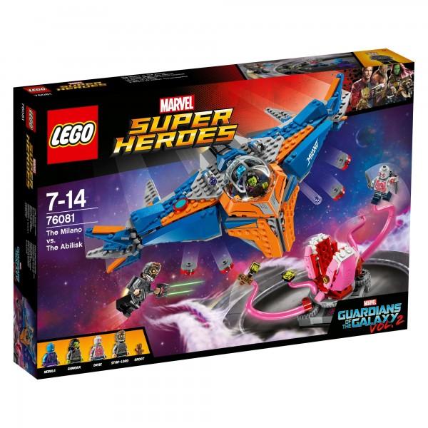 LEGO® Marvel Super Heroes 76081 Die Milano gegen den Abilisk