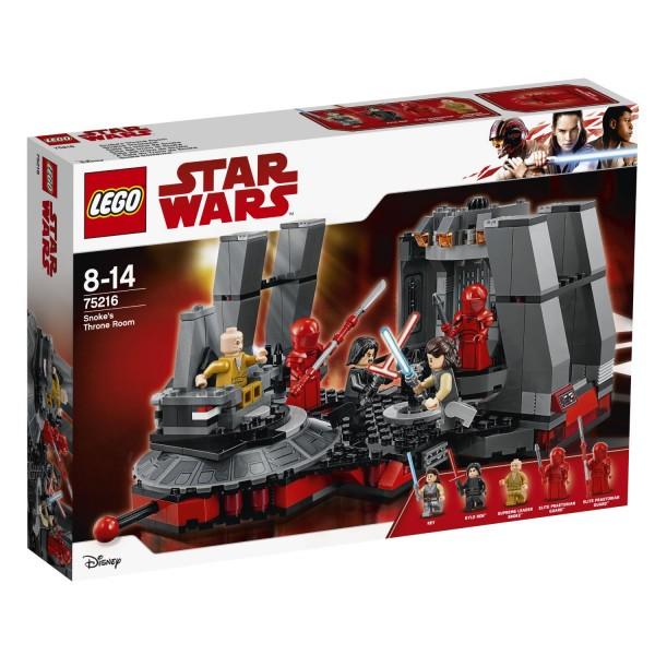 LEGO® Star Wars 75216 Snokes Thronsaal
