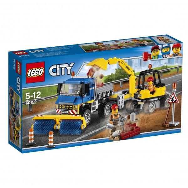 LEGO® CITY 60152 Straßenreiniger und Bagger