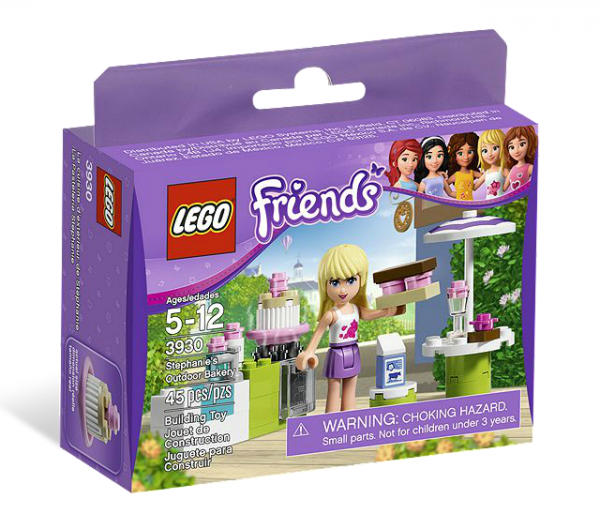 LEGO® Friends 3930 Stephanies Backspaß im Garten