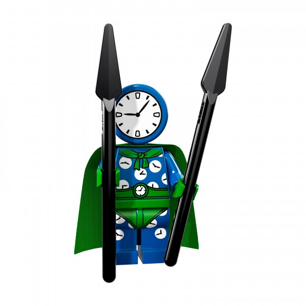 The LEGO® Batman Movie Minifigur Serie 2 - Clock King 71020-03