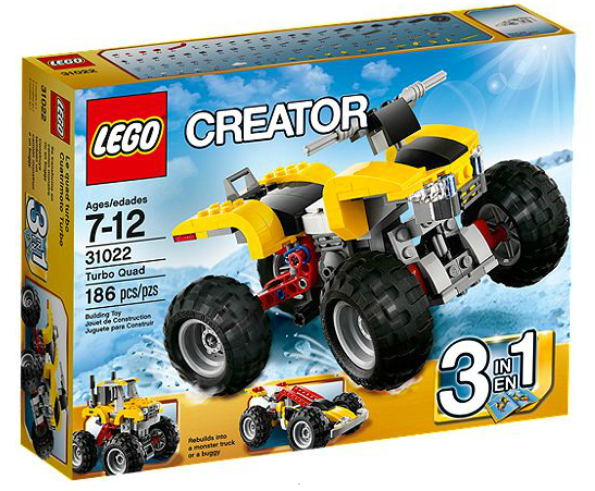 LEGO® Creator 31022 Turbo-Quad