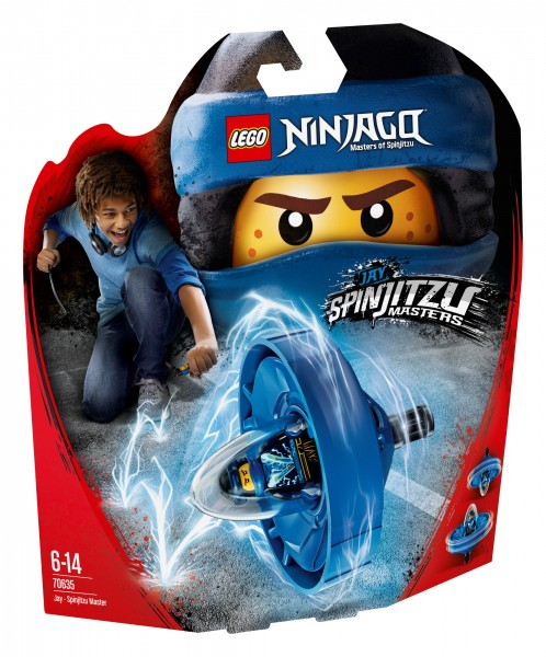 LEGO® Ninjago 70635 Spinjitzu-Meister Jay