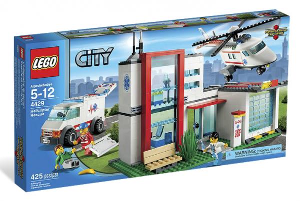 LEGO® CITY 4429 Helikopter Rettungsbasis