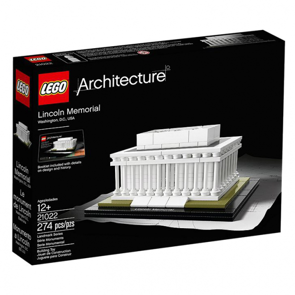 LEGO® Architecture 21022 Lincoln Memorial