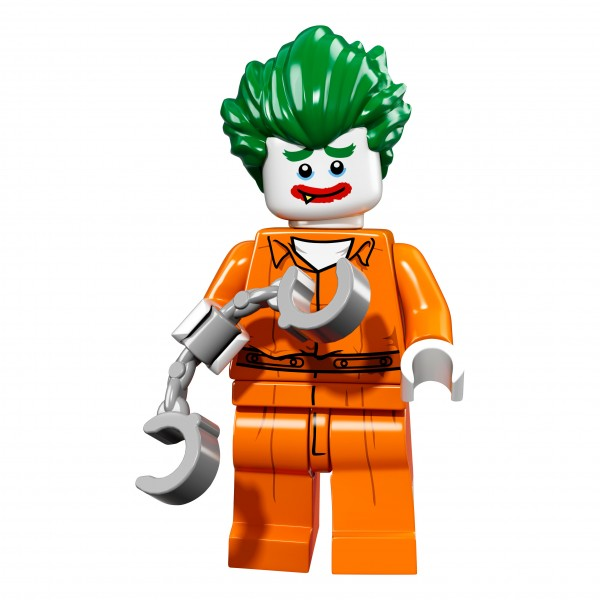 The LEGO® Batman Movie Minifigur - The Joker Arkum Asylum 71017-08