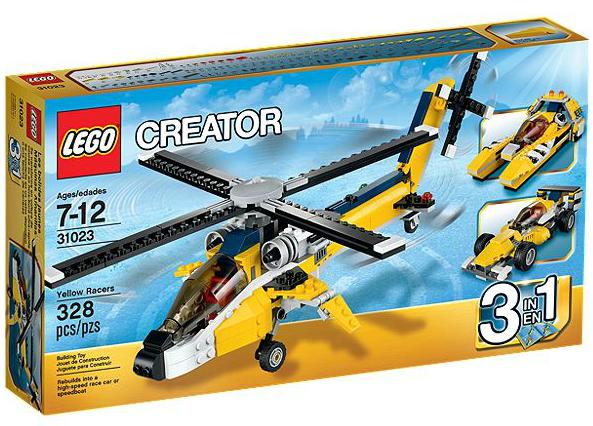 LEGO® Creator 31023 Gelbe Flitzer