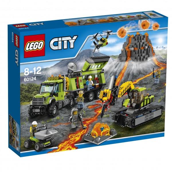 LEGO® CITY 60124 Vulkan-Forscherstation