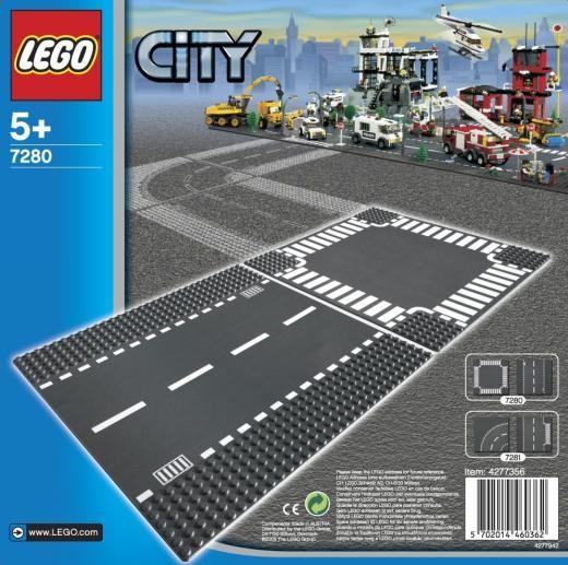 LEGO® CITY 7280 Gerade Straße/ Kreuzung