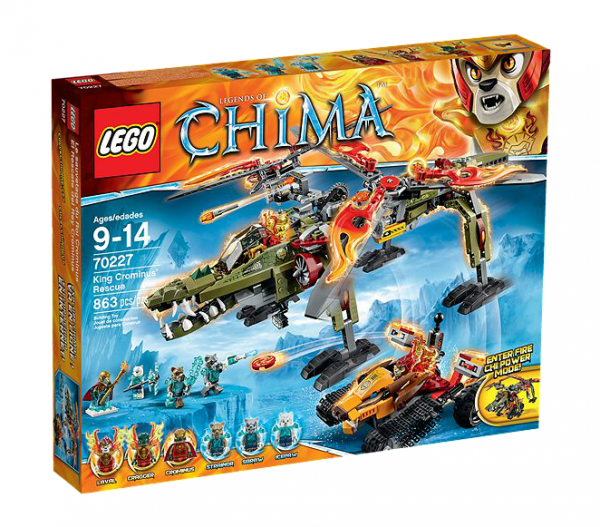 LEGO® Chima 70227 König Crominus Rettung