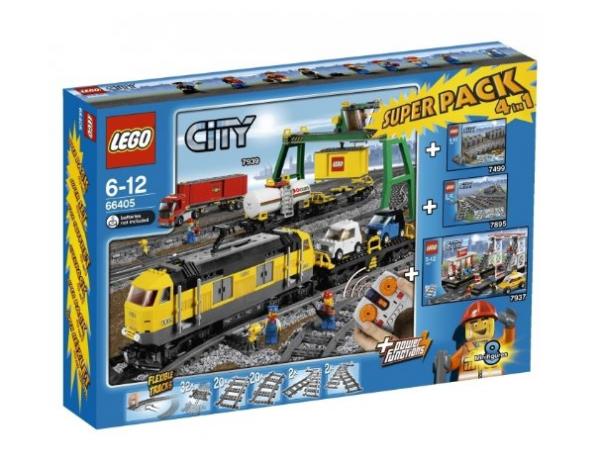 LEGO® CITY 66405 Güterzug Superpack