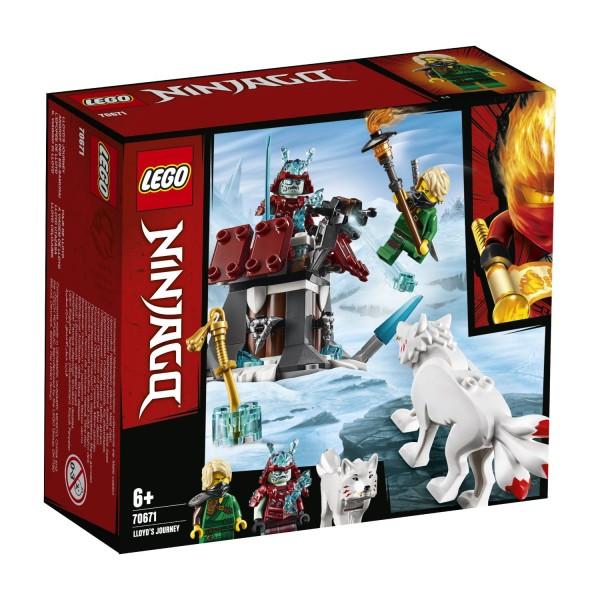 LEGO® NINJAGO® 70671 Angriff des Eis-Samurai