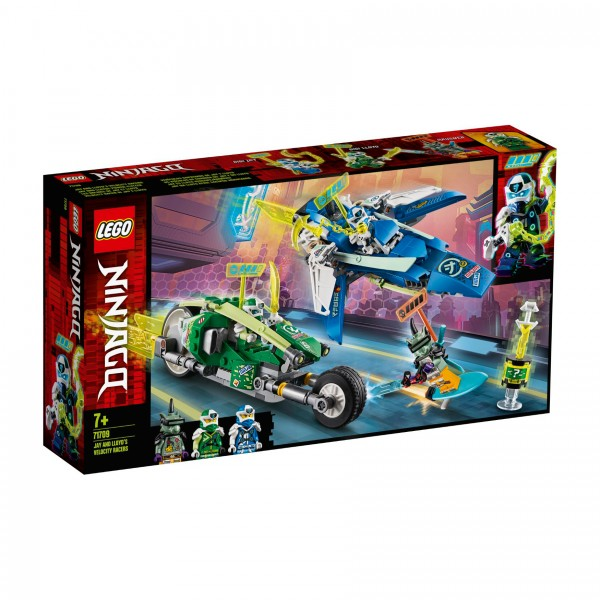 LEGO® NINJAGO® 71709 Jay und Lloyds Power-Flitzer