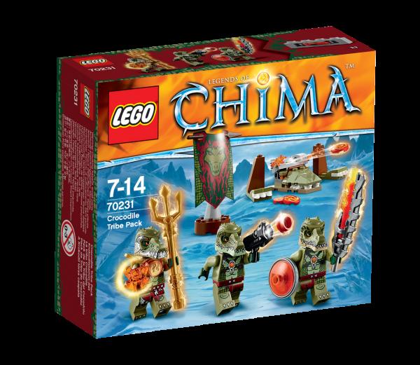 LEGO® Chima 70231 Krokodilstamm-Set