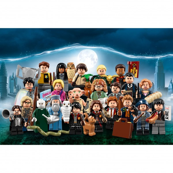 LEGO® 71022 Harry Potter™ und Phantastische Tierwesen™ Minifiguren - alle 22 Figuren