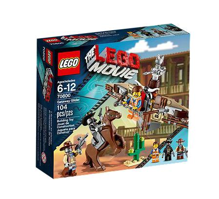 LEGO® Movie 70800 Flucht mit dem Gleiter