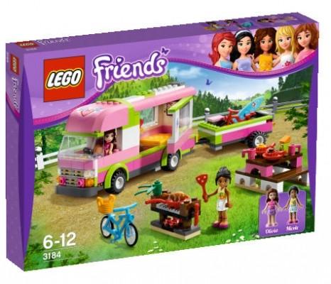 LEGO® Friends 3184 Abenteuer Wohnmobil