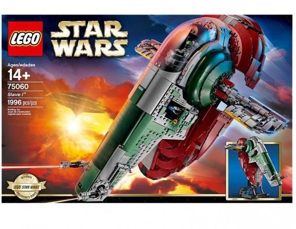 LEGO® Star Wars 75060 Slave I - beschädigte Verpackung