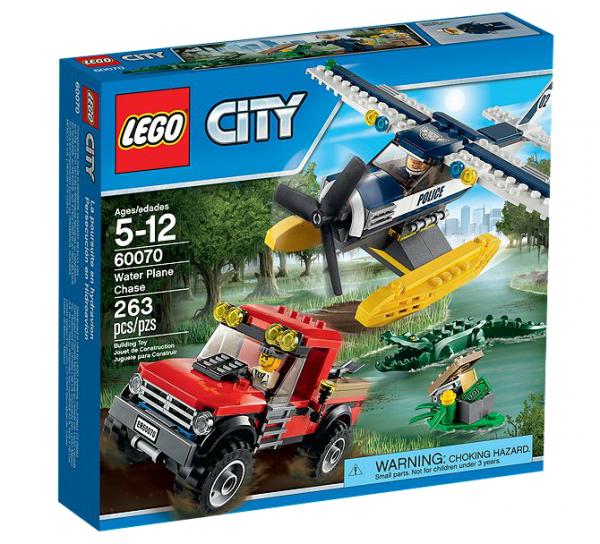 LEGO® CITY 60070 Verfolgungsjagd mit dem Wasserflugzeug