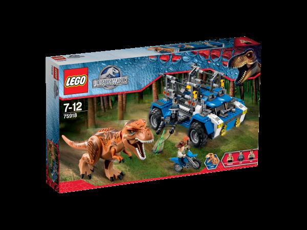 LEGO® Jurassic World 75918 Auf der Fährte des T-Rex