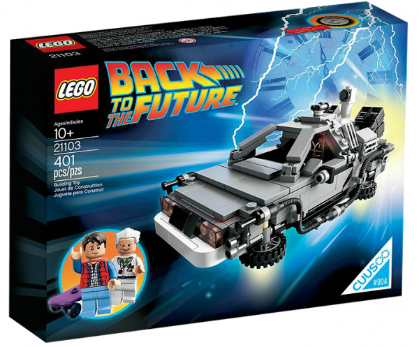 LEGO® 21103 CUUSOO DeLorean Zeitmaschine
