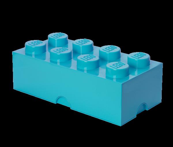LEGO® Storage Brick 8 azurblau