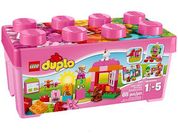 LEGO® DUPLO® 10571 Große Steinebox Mädchen