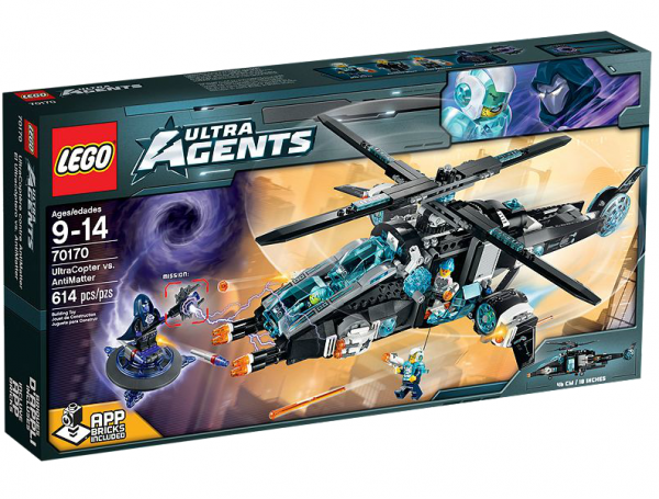 LEGO® Ultra Agents 70170 UltraCopter vs. AntiMatter