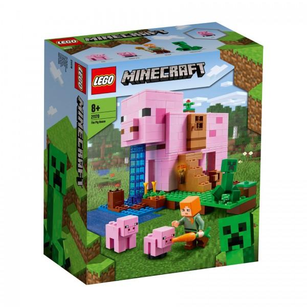 LEGO® Minecraft 21170 Das Schweinehaus