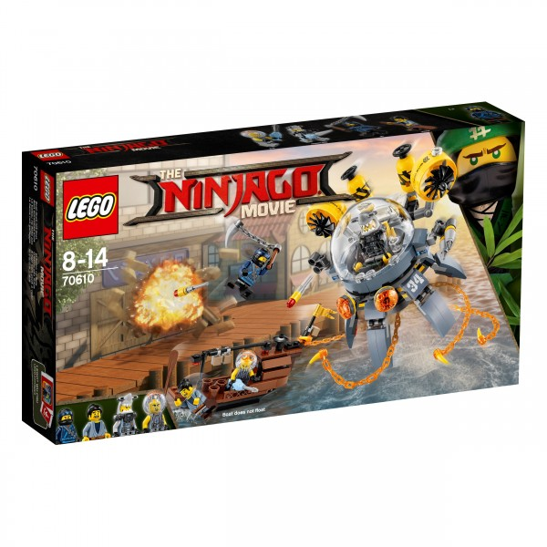 LEGO® Ninjago Movie 70610 Turbo Qualle