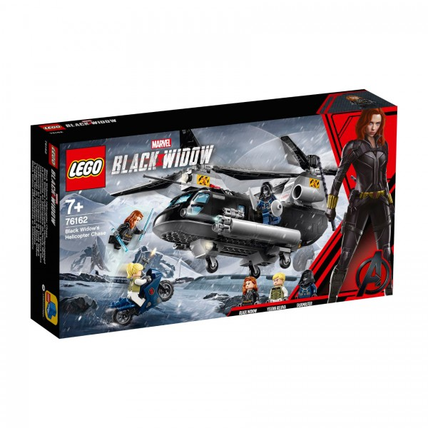 LEGO® Marvel Super Heroes™ 76162 Black Widows Hubschrauber-Verfolgungsjagd