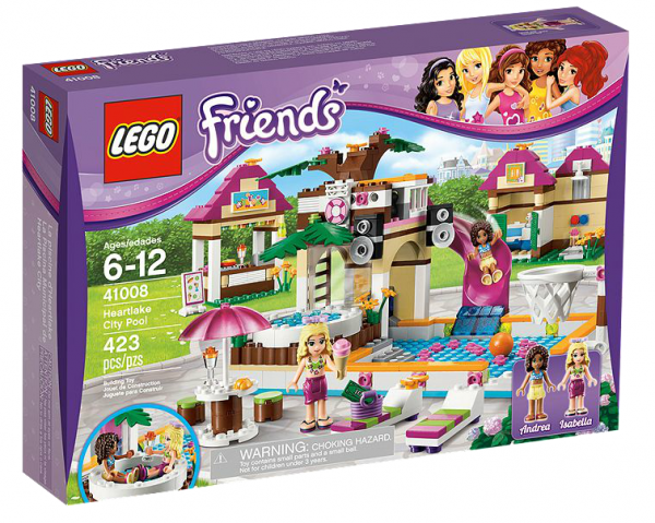 LEGO® Friends 41008 Großes Schwimmbad